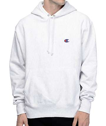 Champion Reverse Weave Athletic Grey Hoodie