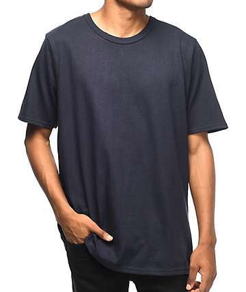Champion Reverse Weave Navy T-Shirt