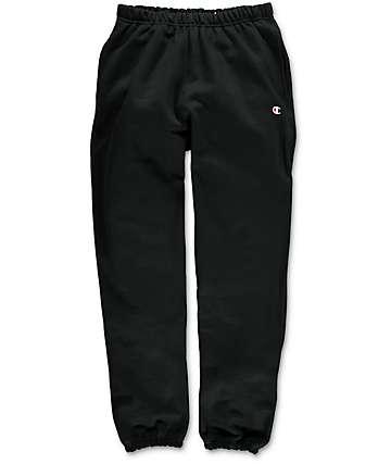 Champion Reverse Weave pantalones deportivos en negro
