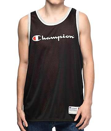 Champion Reversible jersey de malla en rojo y negro
