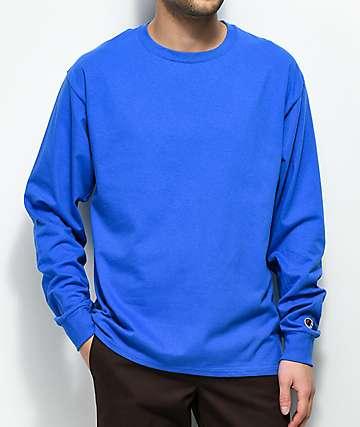 Champion Royal Blue Long Sleeve T-Shirt