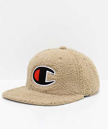 Champion Sherpa Khaki Strapback Hat