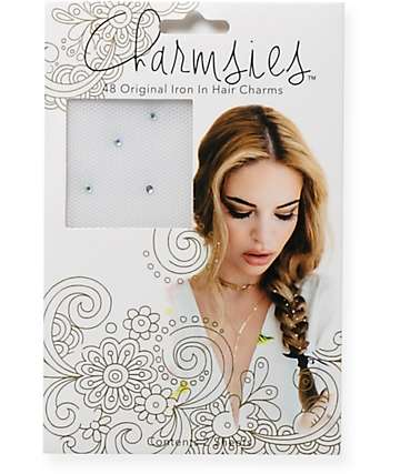 Charmsies Iridescent Rhinestones Hair Charms
