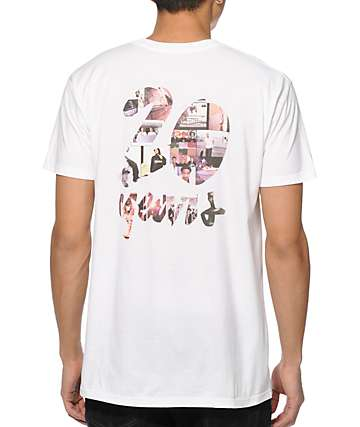 Chocolate 20 Year Collage T-Shirt