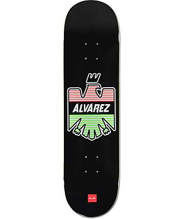 "Chocolate Alvarez Eagle 8.25""  Skateboard Deck"