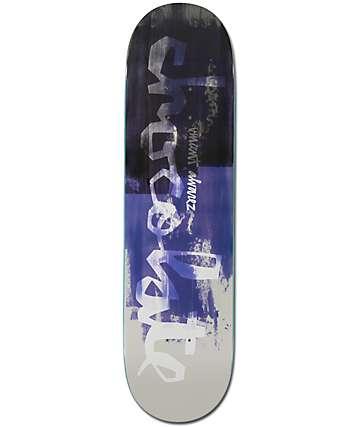 "Chocolate Alvarez Hype Paint 8.25"" Skateboard Deck"
