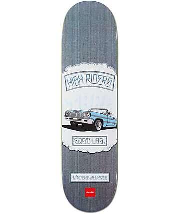 "Chocolate Alvarez Rider Patch 8.25""  Skateboard Deck"