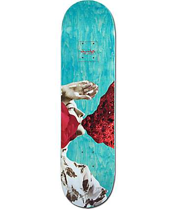 "Chocolate Anderson Dru Collage 8.12"" Skateboard Deck"