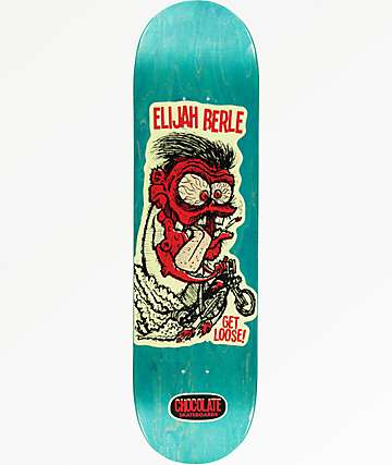 "Chocolate Berle Get Loose 8.5"" Skateboard Deck"