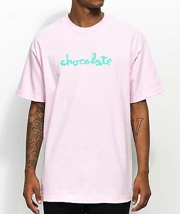 Chocolate Classic Chunk Pink T-Shirt