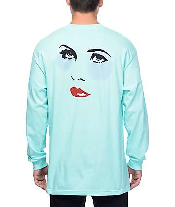 Chocolate Dreamers Teal Long Sleeve T-Shirt
