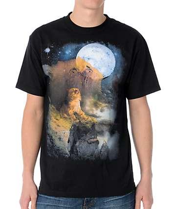 Chocolate Howling Garvey Black T-Shirt