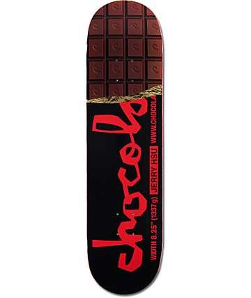 "Chocolate Hsu Chocolate Bar 8.25"" tabla de skate"
