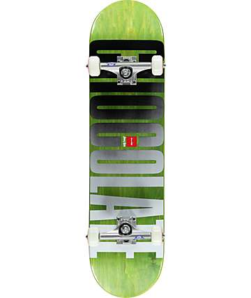 "Chocolate Hsu Fade 8.0"" Complete Skateboard"