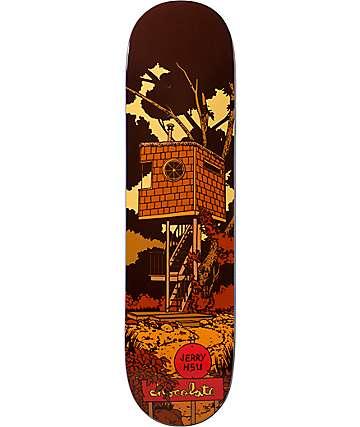 "Chocolate Hsu Tree House 8.0""Skateboard Deck"