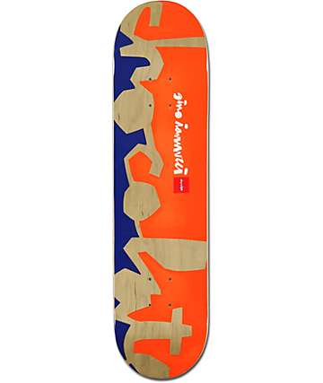 "Chocolate Iannucci Knockout Chunk 7.8"" Skateboard Deck"