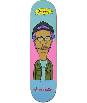 "Chocolate Jer & Hsu 8.0""  Skateboard Deck"