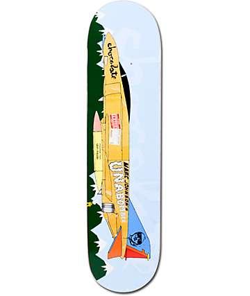 "Chocolate Johnson Fighter Plane 8.0""  Skateboard Deck"