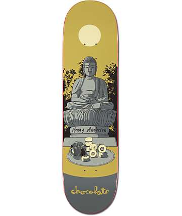 "Chocolate Kenny Anderson Tombstone 8.125""  Skateboard Deck"