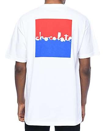 Chocolate Knockout Chunk camiseta blanca