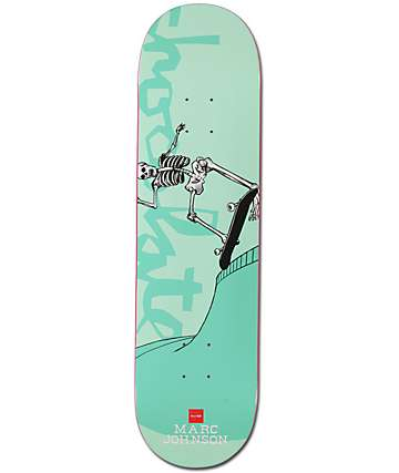 """Chocolate Marc Day Of The Shred 8.12"""" Skateboard Deck"""