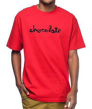 Chocolate Original Chunk Red T-Shirt