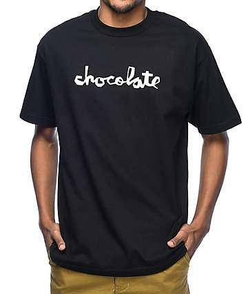 Chocolate Original Chunk camiseta negra
