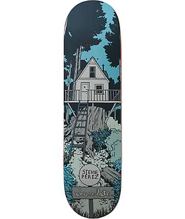 "Chocolate Perez Tree House 8.25""  Skateboard Deck"