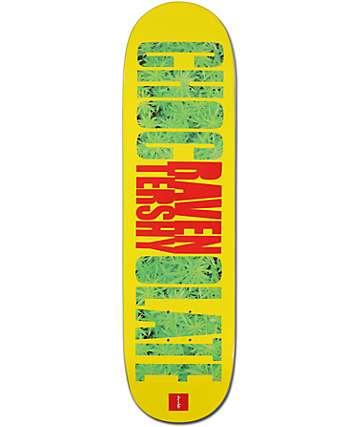 """Chocolate Raven Tershy Big Weed Print 8.0""""  Skateboard Deck"""