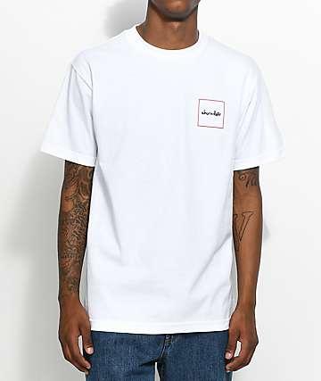 Chocolate Squared camiseta blanca