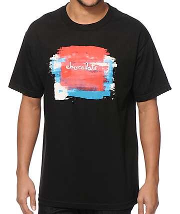 Chocolate Subtle Square T-Shirt