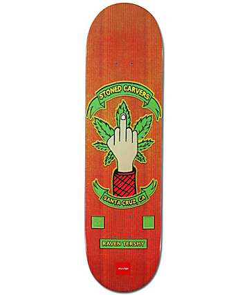 "Chocolate Tershy Rider Patch 8.37"" Skateboard Deck"