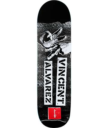 """Chocolate Vincent Gang Sign 8.5""""  Skateboard Deck"""