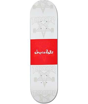 "Chocolate X Thrasher 8.125"" Collaboration Skateboard Deck"