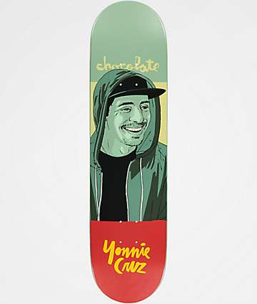 "Chocolate Yonnie Portrait 8.0"" Skateboard Deck"