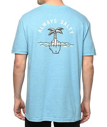 Chomp Always Salty Blue T-Shirt
