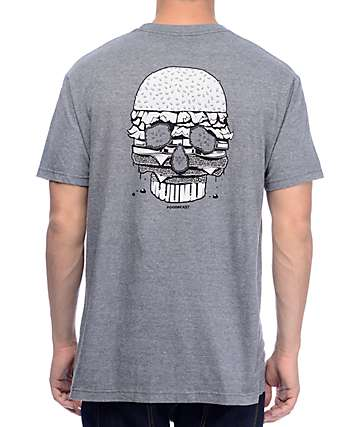 Chomp Feed Your Soul Heather Grey T-Shirt
