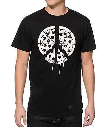 Chomp Pizza Flag T-Shirt