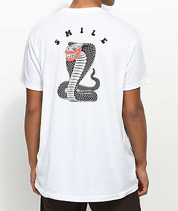 Chomp Smile White T-Shirt