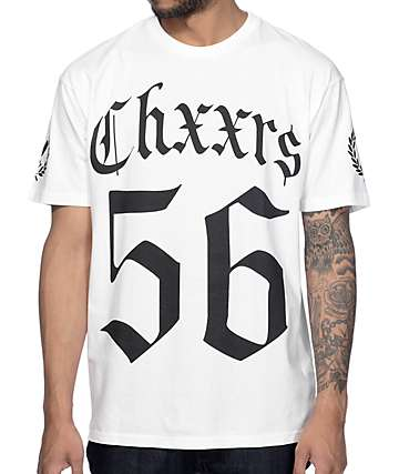 Chxxrs Club Hendrix White T-Shirt