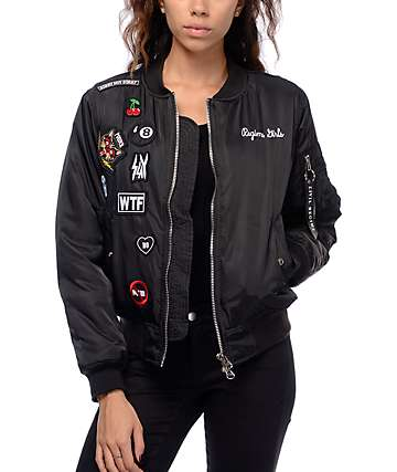 Civil Baddies Tour Bomber Jacket