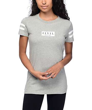 Civil Essential Box Grey T-shirt