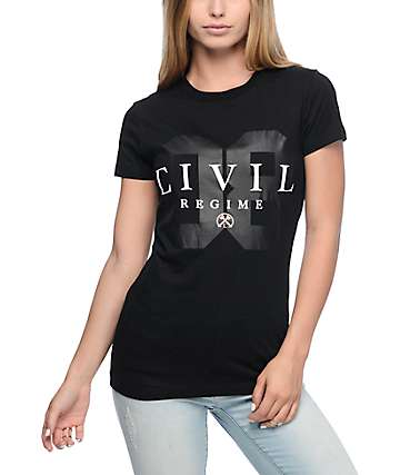 Civil First Base Black T-Shirt
