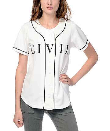 Civil Home Run White Jersey