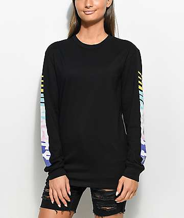 Civil Nasty Black Long Sleeve T-Shirt