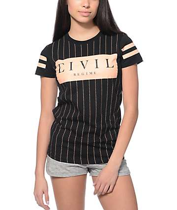 Civil Regime Black Box T-Shirt