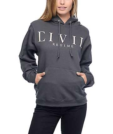 Civil Regime Grey Hoodie