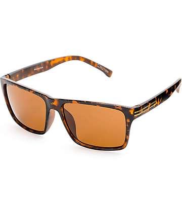 Clarkson Matte Tortoise Flat Top Sunglasses