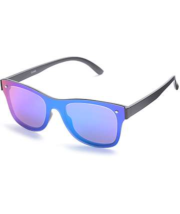 Classic All Lens Blue & Green Sunglasses