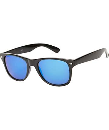 Classic Black & Blue Sunglasses